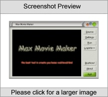 Max Movie Maker Screenshot